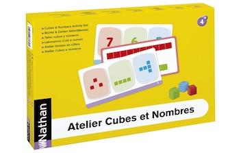 taller de cubos y numeros